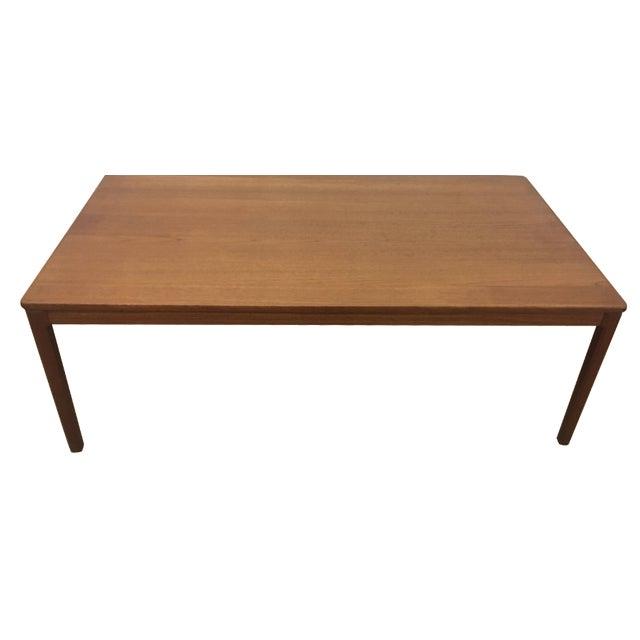 Mid-Century Teak Coffee Table - Image 1 of 5