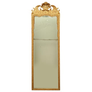 Fine George I Giltwood Pier Mirror For Sale