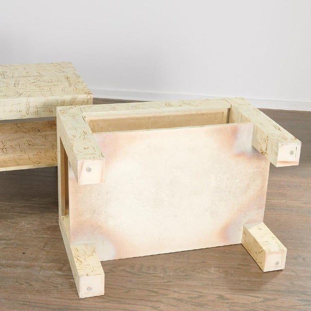 Pair Juan Pablo Molyneux Side Tables For Sale In New York - Image 6 of 7