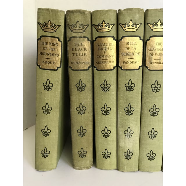 Here is a classic book collection that has brains and beauty! As you can see, the titles listed are noted books (Madame...