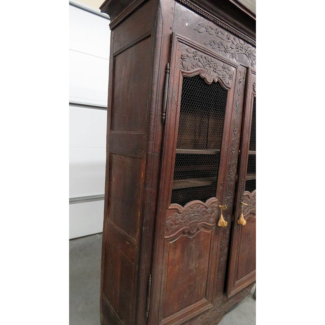 18th C. French Provincial Armoire For Sale - Image 10 of 11