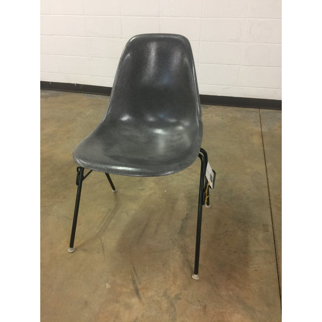 Eames Elephant Gray Shell Chair - Image 2 of 8