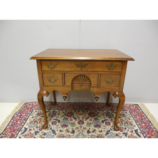 Century Furniture Century Furniture Henry Ford Museum Mahogany Chippendale Style Low Boy Chest For Sale - Image 4 of 11