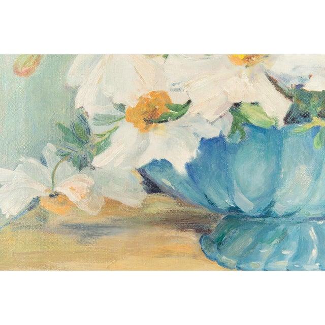 "Mary Purdum ""Big White Flowers"" Painting - Image 4 of 10"