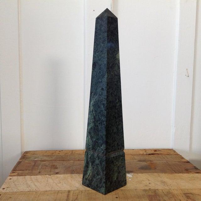 Green Marble Obelisk - Image 2 of 10