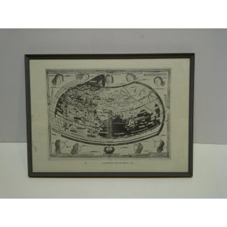 "1482 Framed ""Ptolemaeus"" Map of the World Preview"