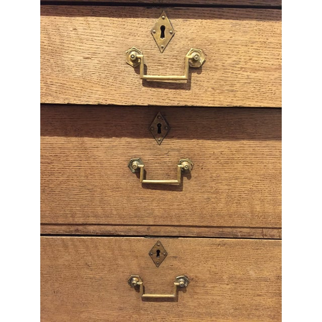 Empire 19th Century French Empire Three Drawer Chest For Sale - Image 3 of 9