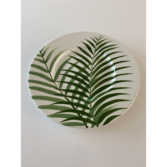 Mid 20th Century Este Ceramiche Large Natura Ceramic Plate For Sale - Image 5 of 5