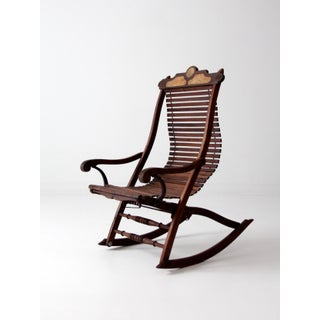 Antique Slat Rocking Chair Preview