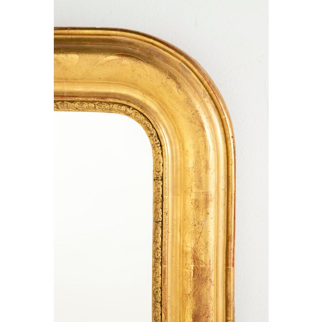 French 19th Century Gilt Louis Philippe Mirror For Sale - Image 3 of 6