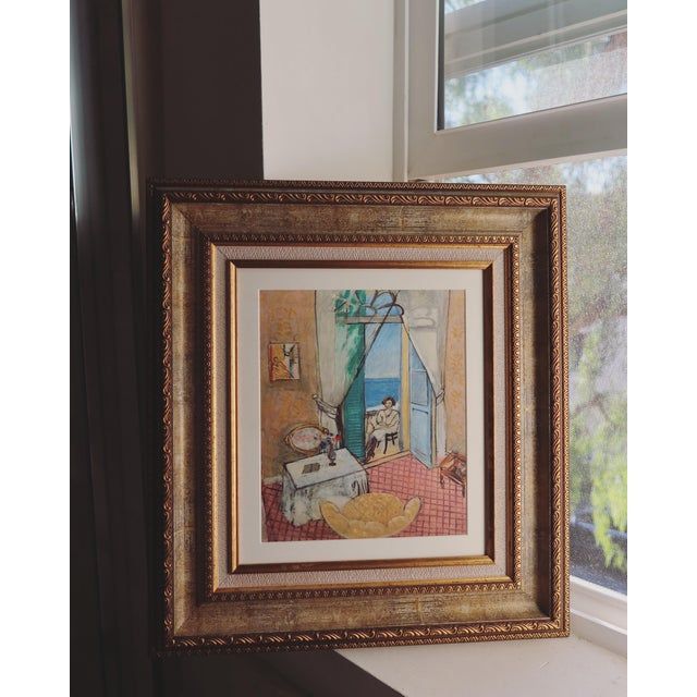 Canvas Interior at Nice by Matisse - Rinoarts Production Print For Sale - Image 7 of 7