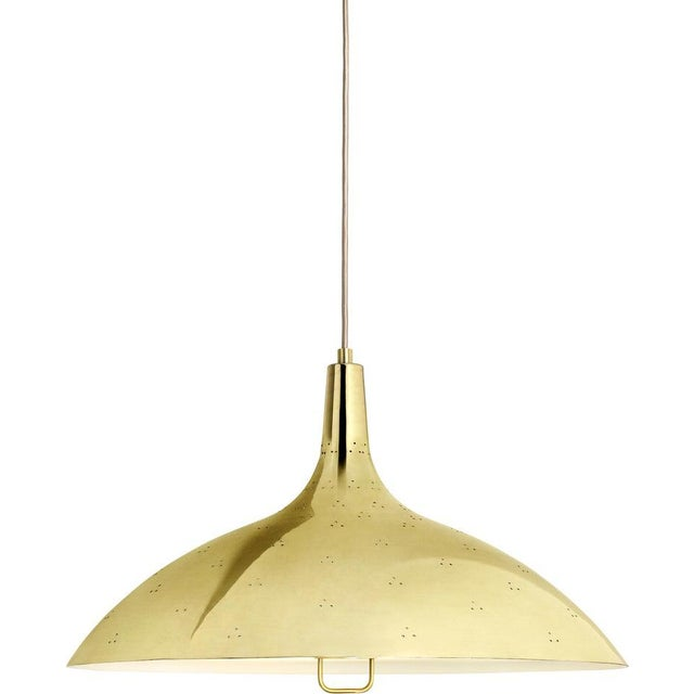 Green Paavo Tynell '1965' Pendant Lamp in Green For Sale - Image 8 of 10