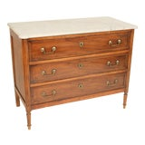 Image of 19th Century Louis XVI Style Chest of Drawers For Sale