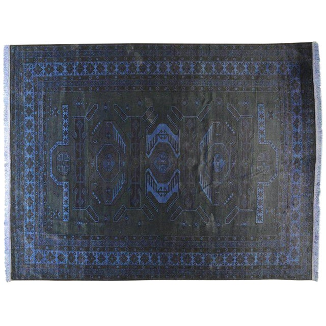 Traditional Silky Vintage Collection Rug - 9′ × 11′7″ For Sale