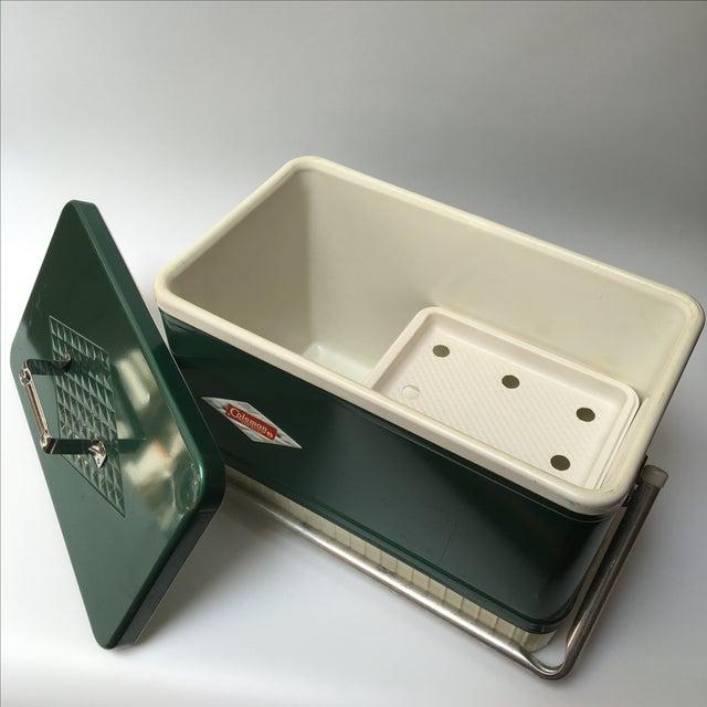 Vintage Coleman Cooler For Sale - Image 11 of 11