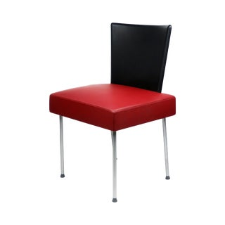 Maroon Calvi Chair by Gijs Papavoine for Montis For Sale