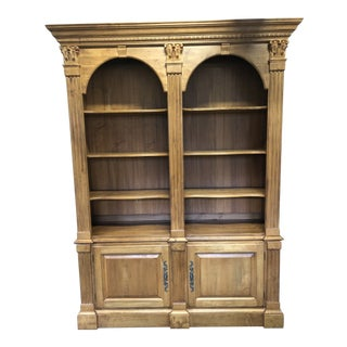 French Ethan Allen Legacy Collection Bookcase For Sale