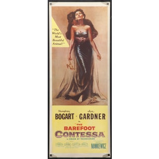 "Ava Gardner ""The Barefoot Contessa"" Film Poster"
