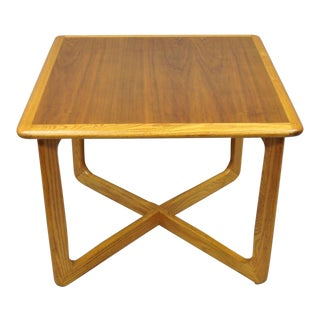Altavista Lane Mid-Century Modern Walnut Square Side / Coffee Table For Sale