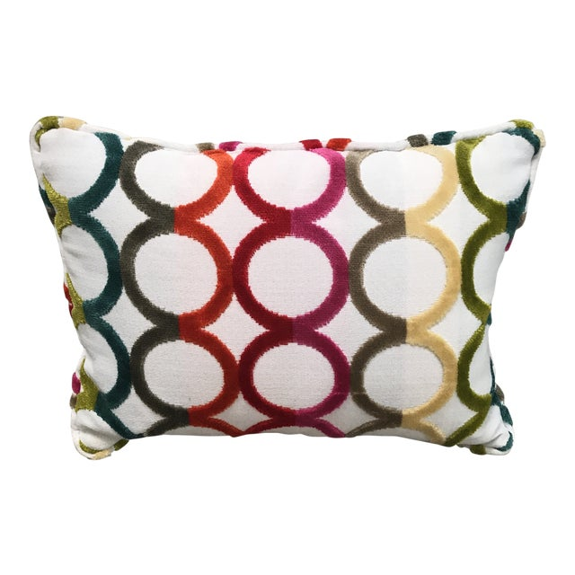 Jonathan Adler Contemporary Throw Pillow   Chairish