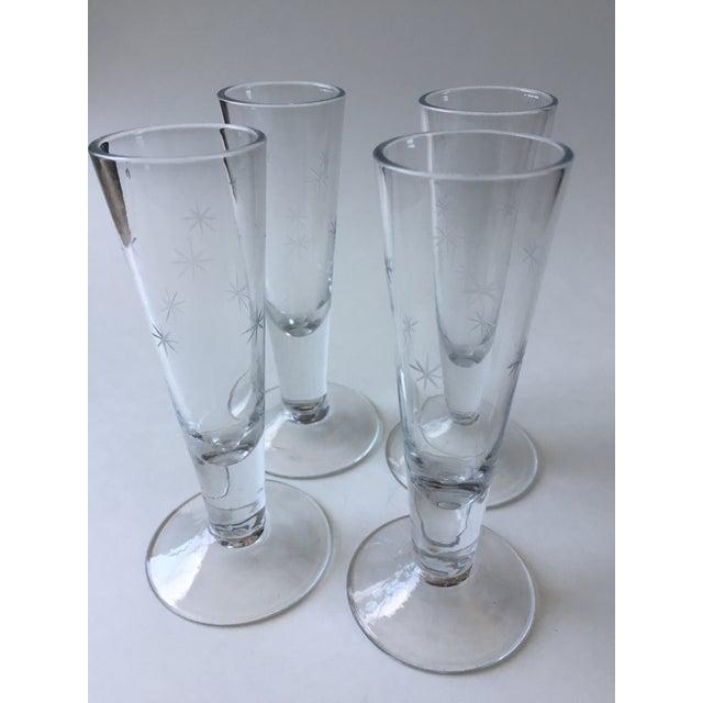 Vintage Mid-Century Shot Glasses - Set of 4 - Image 2 of 9