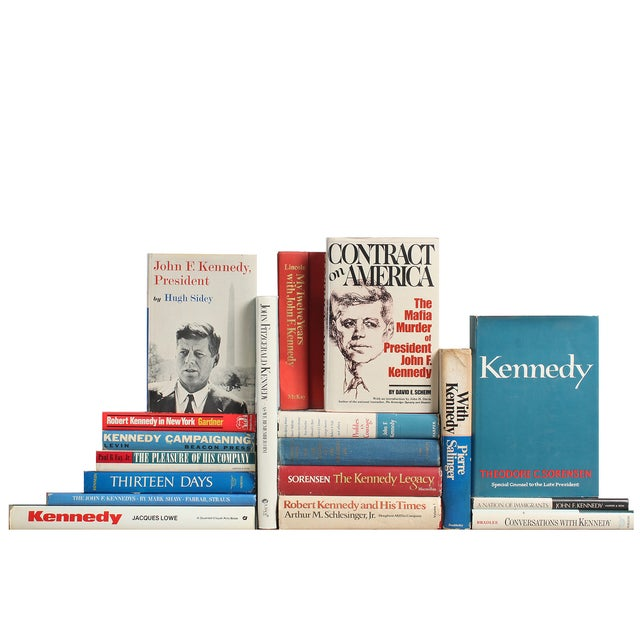 Patriotic Kennedy Library - Set of 18 - Image 1 of 2