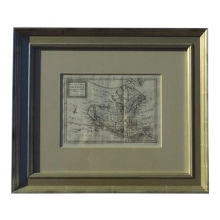 1716 Herman Moll North America Map Print For Sale