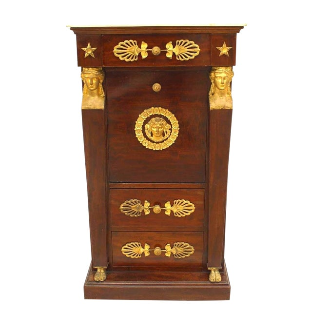 French Empire Style Small Commode For Sale