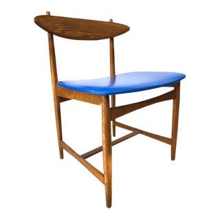 1950s Vintage Sculptural Danish Modern Accent Chair For Sale