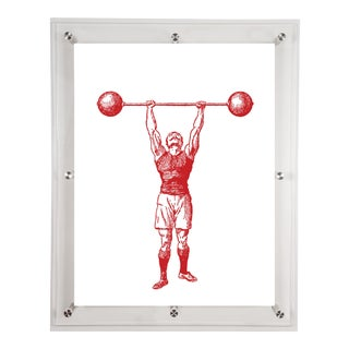 Mitchell Black Home Strongman Art For Sale