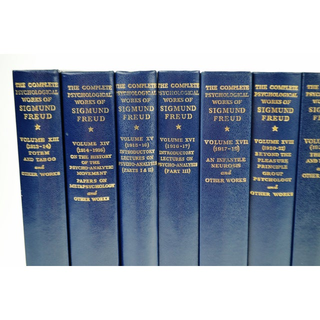 The Standard Edition Of The Complete Psychological Works Of Sigmund Freud Books - 24 Volumes For Sale - Image 9 of 11