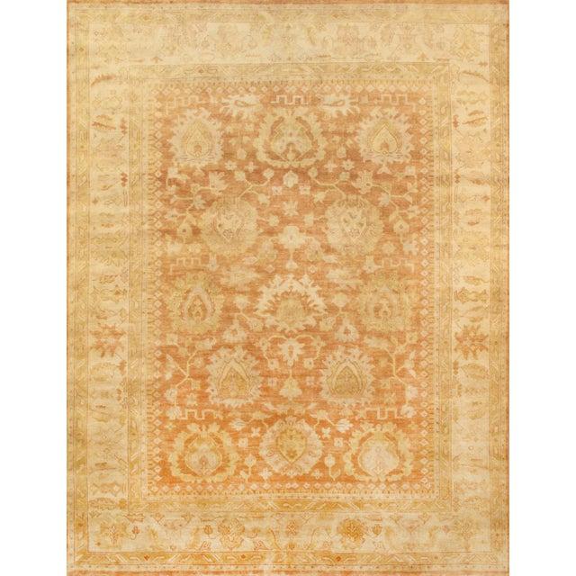 """Oushak Handmade Wool Area Rug - 9' X 12'1"""" - Image 1 of 2"""