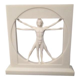 Vitruvian Man Sculpture