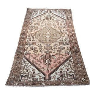 Early 20th Century Mahajeran Rug-3′1″ × 6′4″ For Sale