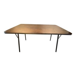 Rustic Industrial Dining Table For Sale