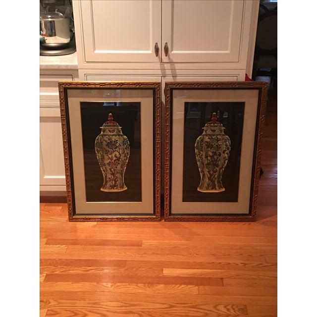 Framed Ginger Jar Prints - A Pair - Image 2 of 9