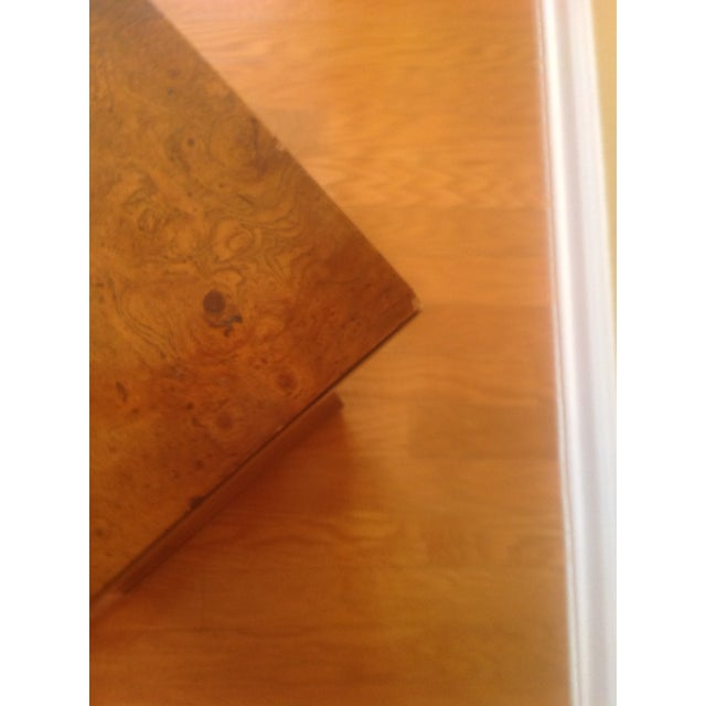 Brown French-Style Burled Wood Credenza For Sale - Image 8 of 10