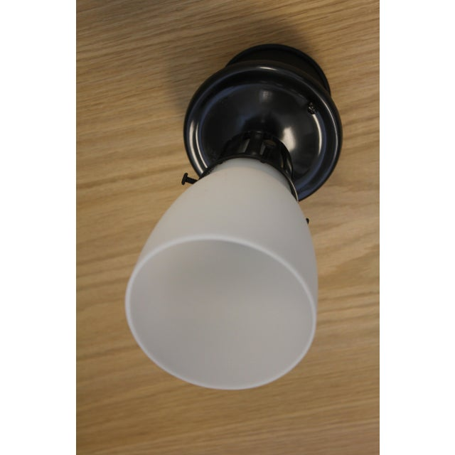 Mid-Century Modern Urban Archaeology Petite Luminaire Flushmount For Sale - Image 3 of 6