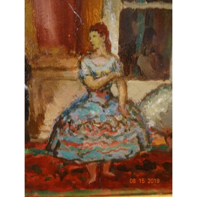 Oil on Board by Marcel Cosson For Sale - Image 10 of 13