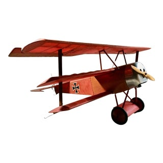 Details about Stunning Fokker Dr.1 Triplane Red Baron WW1 Aeroplane Model Plane For Sale