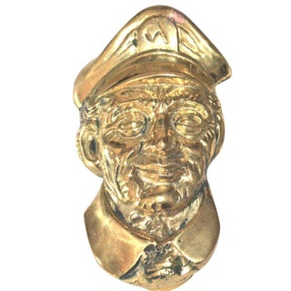 Old Sailor Brass Door Knocker