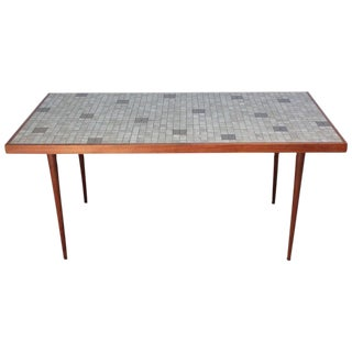 1960s Martz for Marshall Studios Tile-Top Dining Table For Sale