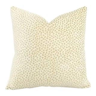 Manuel Canovas Safari Cream and Tan Pillow Cover For Sale