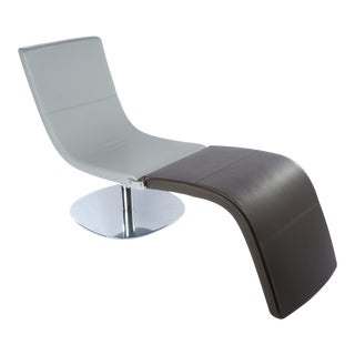 "Karim Rashid ""Dragonfly"" Convertible Swivel Chair/Chaise"