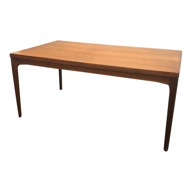 Danish Modern Dining Table with Two Leaves - Image 1 of 11