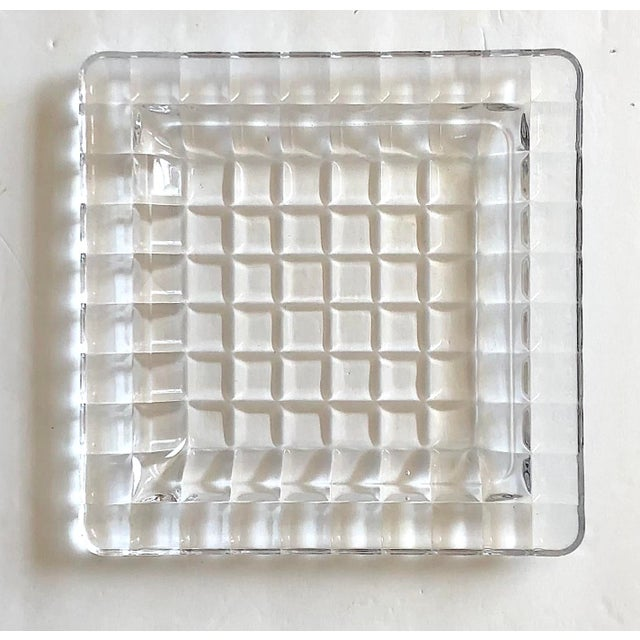 1950s Mid-Century Modern Glass Tray For Sale - Image 9 of 12