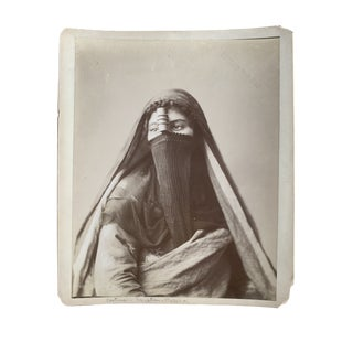 1920's Egyptian Woman Photograph For Sale