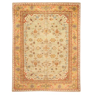 Antique English Carpet For Sale