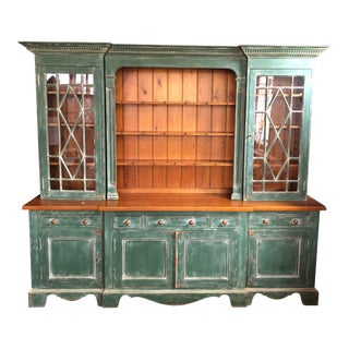 1990s Custom Crafted Display Cabinet For Sale