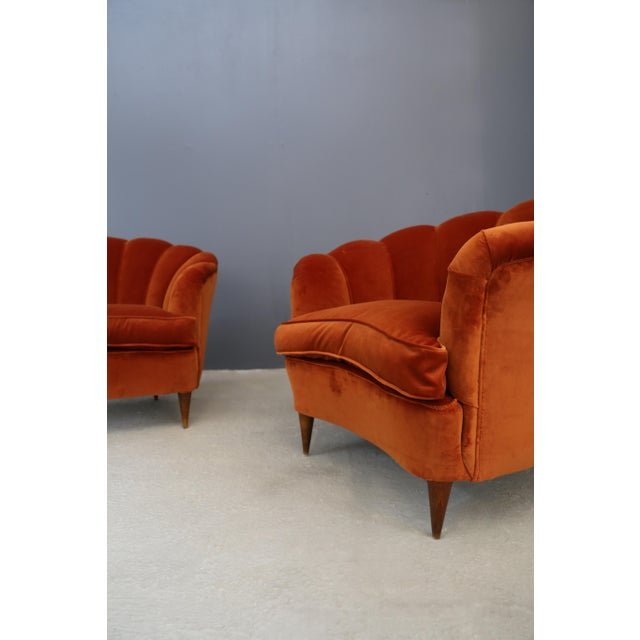 1940s Vintage 1940s Shell Armchairs For Sale - Image 5 of 6
